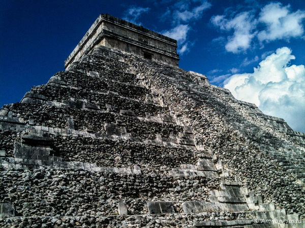Architecture Clouds Day Holiday Low Angle View Natural Light No People Outdoors Piramide Sky Travel Destinations Traveling Trip Photo