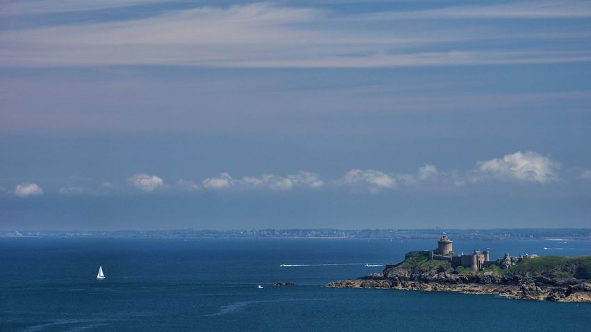 Fort La Latte Bretagne Coast Seaside Sea And Sky Sea View Nice Day Enjoying The Sights Colours Wind France