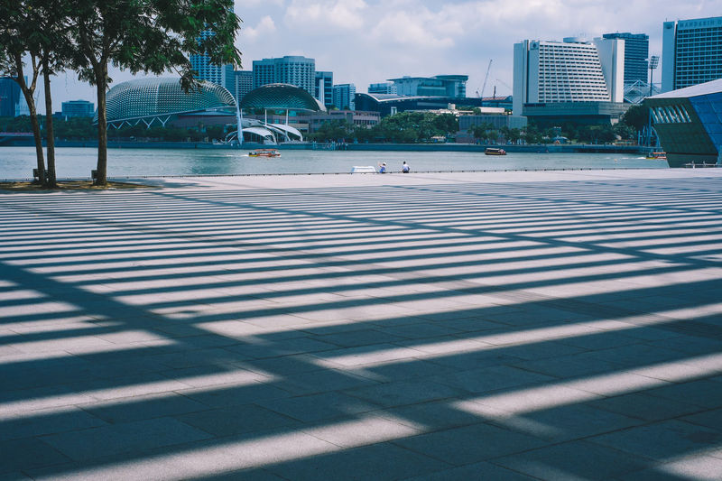 City Life Light And Shadow Shadow Urban