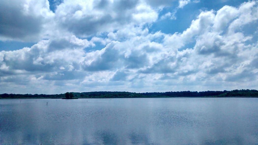 Lake Sky Clouds Cloudporn