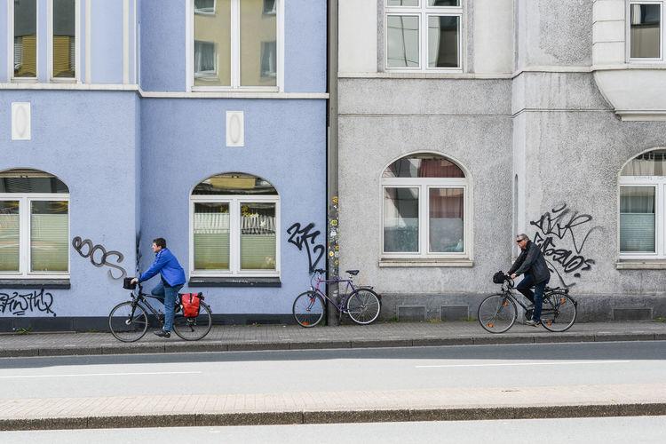 Dortmund Kreuzviertel Bicycle Bicycle Rack Cycling Germany