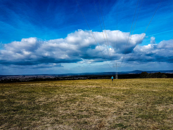 Beauty In Nature Blue Cloud - Sky Day Environment Field Fuel And Power Generation Grass Idyllic Land Landscape Nature No People Non-urban Scene Outdoors Plant Power Supply Scenics - Nature Sky Tranquil Scene Tranquility My Best Travel Photo