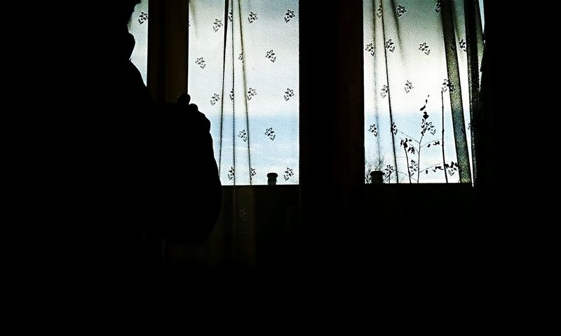 Showcase: January Waiting for the sunrise. Shadows & Lights Me And My Shadows Silhouette Early Morning Windowview Missing The Sun Mobilephotography Daretoexplore with my Galaxys3 by Lowlight Blue Collection Open Edit Ein