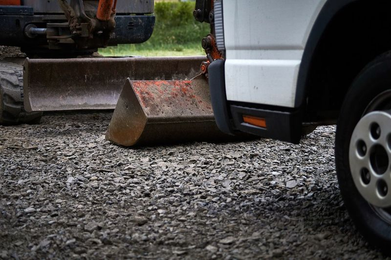 Surface level of vehicle on road