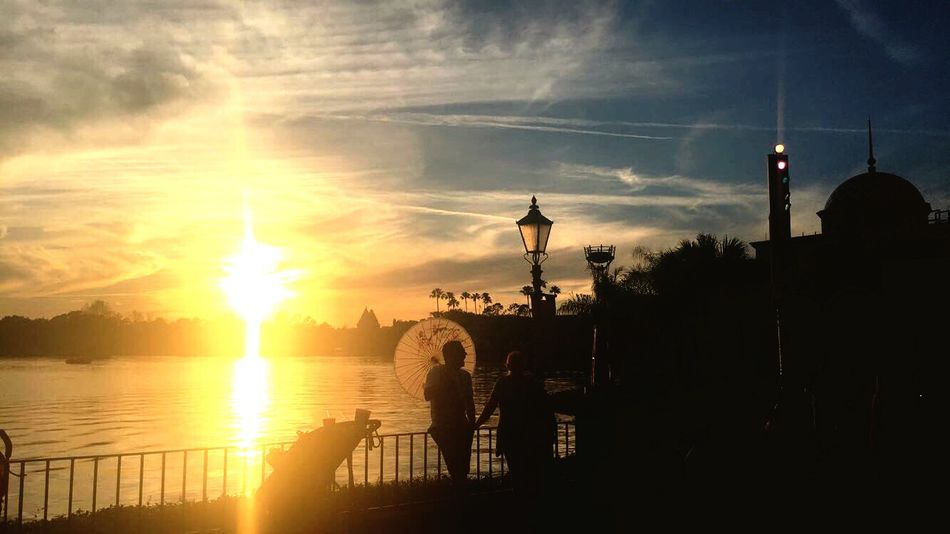 Sunset Epcot Florida EyeEm