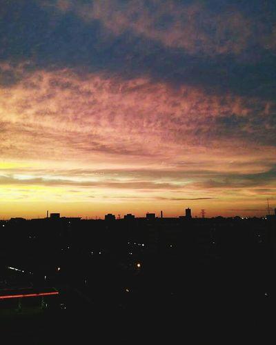 Oh Beautiful Dusk. Sunset over the City. Eeyem Photography Skyporn.