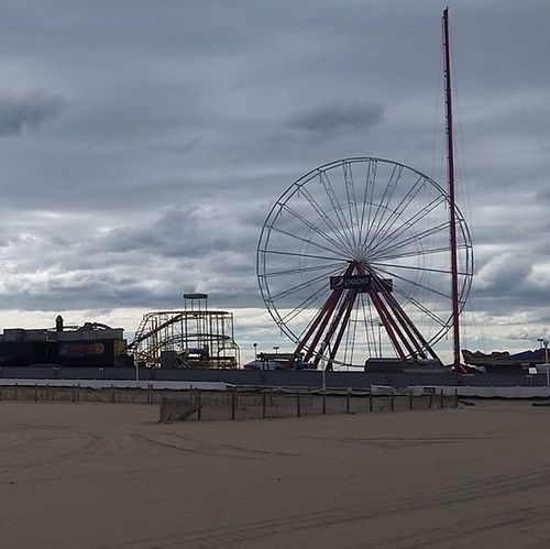 Quiet on the boards on a blustery day.... Oceancitycool OceanCity Maryland Ocmd