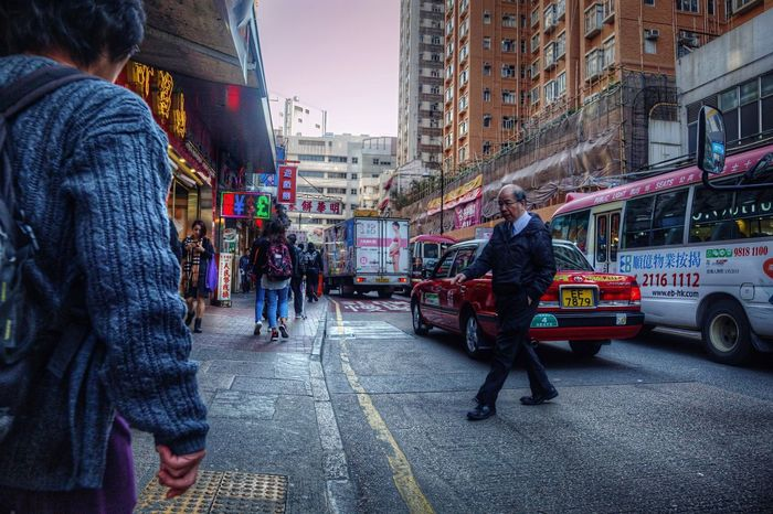 Mongkok City City Life City Street Street Hong Kong Pedestrian Streetshots
