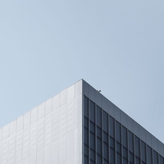 Architecture Built Structure Modern Building Exterior Copy Space Day Outdoors Low Angle View Clear Sky No People