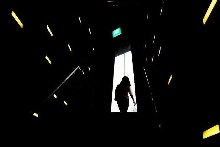 The threshold Negative Space Streetphotography Colors Light And Shadow Streetphotography People Photography People