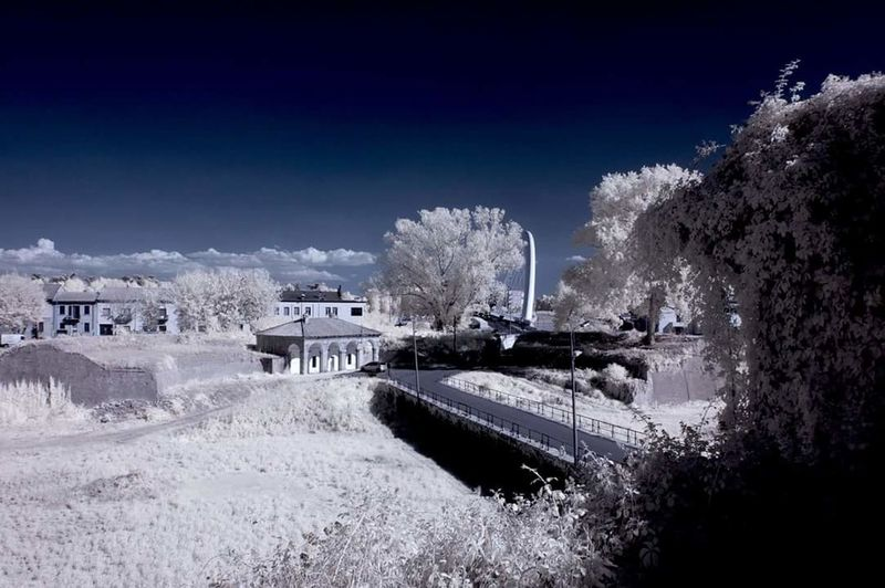 Infrared Infrared Photography Infrarossi Infrared Landscape Infrared Radiation Infrared Color Infrared Sky Alessandria