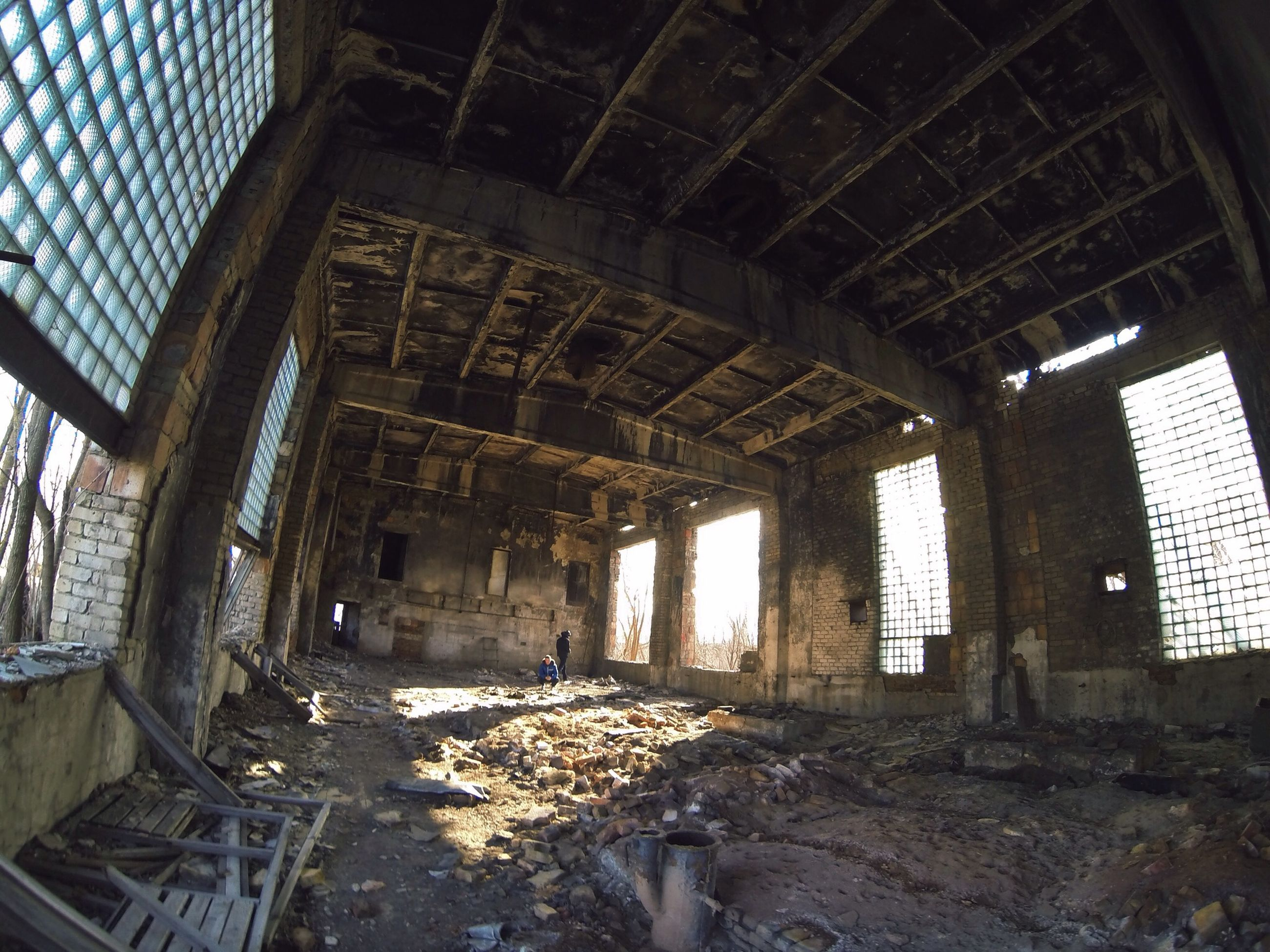 indoors, abandoned, architecture, built structure, obsolete, damaged, run-down, deterioration, interior, old, ceiling, ruined, bad condition, arch, weathered, old ruin, messy, destruction, broken, window