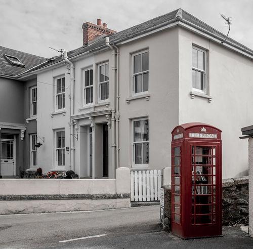 K6 telephone box, Flushing, Cornwall Architecture Flushing Cornwall Cornwall Fujfilmxt10 Telephone Box Telephone Kiosk