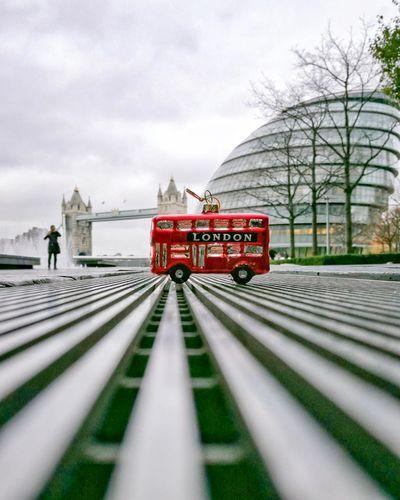 Christmas London Chritmas EyeEm Selects Transportation Sky Cloud - Sky Mode Of Transportation Rail Transportation Public Transportation