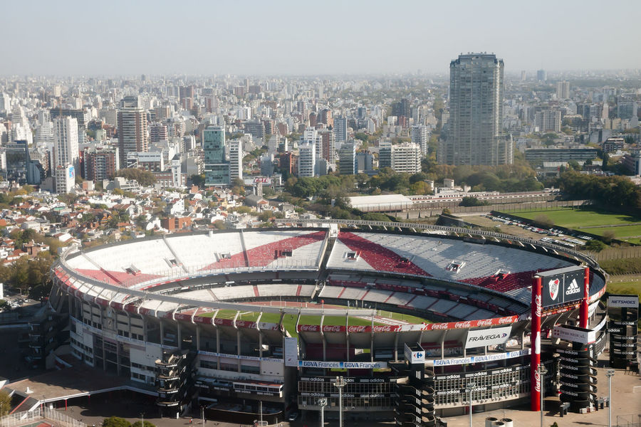 River Plate Football Stadium Buenos Aires Football River Plate Stadium Argentina Carp City Cityscape