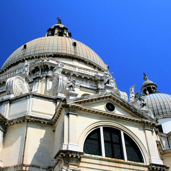Architecture Blue Building Exterior Built Structure Church City Dome Gondola HDR HDR Collection Low Angle View Religion Rob Handgraaf Fotografie Santa Maria Venice, Italy