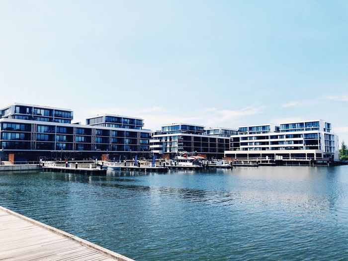 Kingston Foreshore Australia Canberra Architecture Building Exterior Built Structure Water Day Outdoors Waterfront Residential Building No People Modern Clear Sky Travel Destinations City