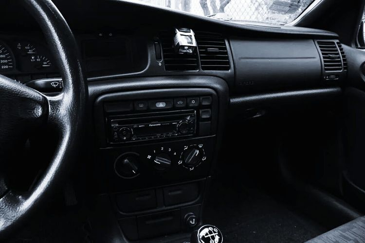 Opel Vectra Opel Vectra B Car Black & White Black And White Dark