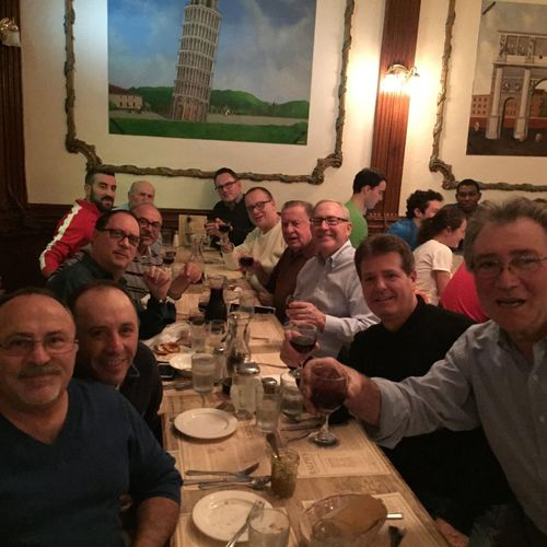 Last night's gathering for our 4th annual ITALIAN GENTLEMEN'S DINNER LaDolceVita LaFamilia ItsAnItalianThing