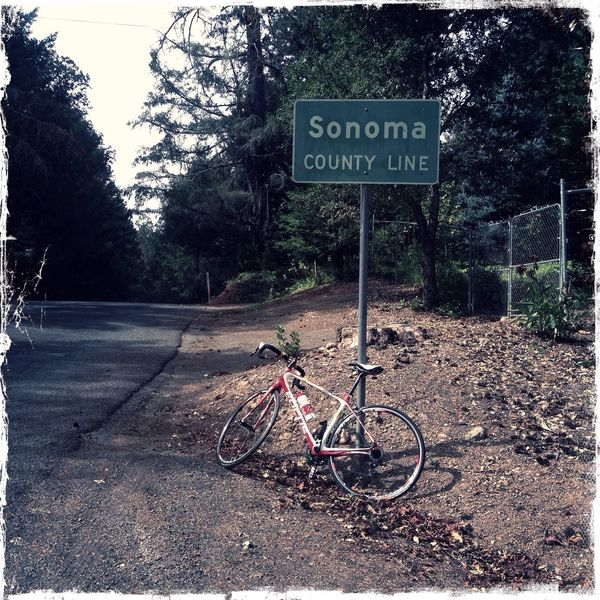 Cycling Sonomacounty Hipstamatic