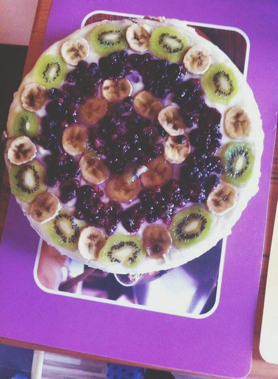 Birthday cake for my aunt ^_^