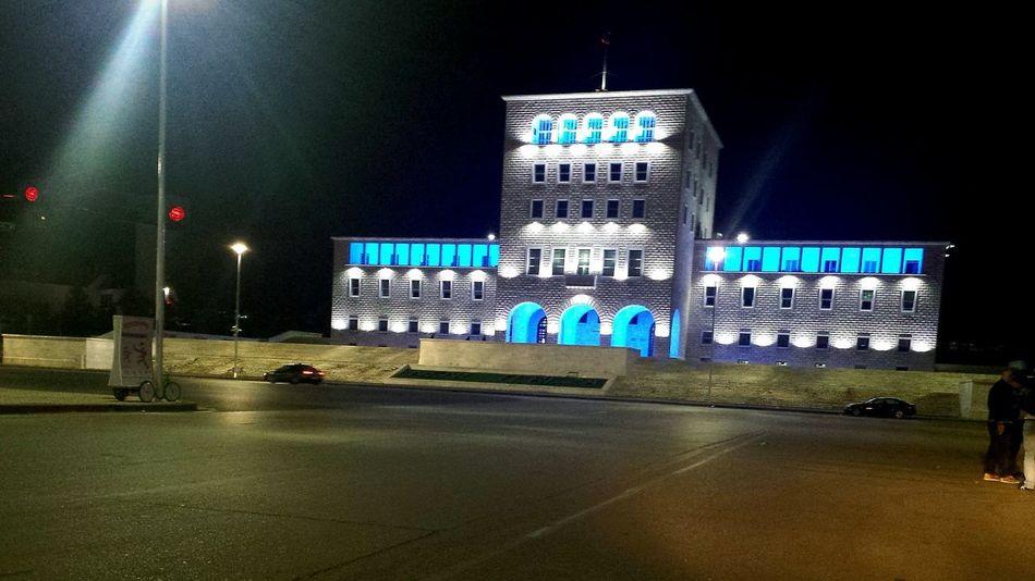 Cityscapes Albania I ❤️ Albania Tirana By Night I ❤️ Tirana Tirana University University Mother Teresa Squa Beautiful Albania Feeling Free
