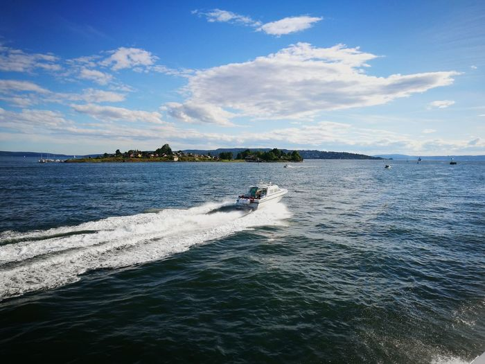 Sea Sky Aquatic Sport Boat Outdoors Day Blue Waterfront Summer Seascape Seaside Nautical Vessel Travel Destinations Oslo Norway Oslofjord An Eye For Travel