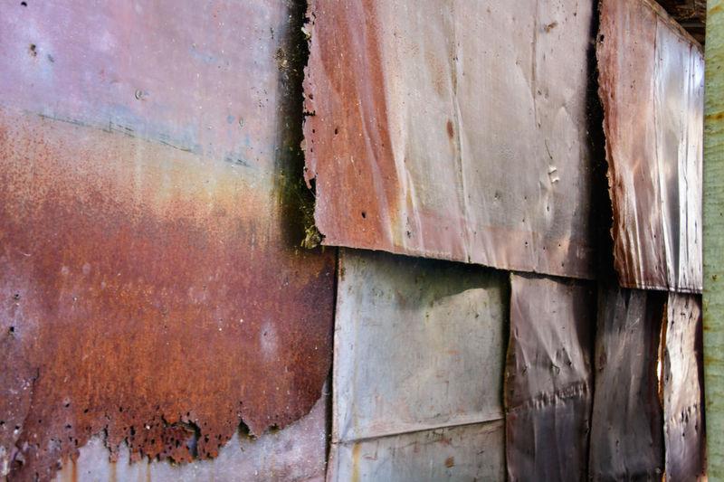 Full frame shot of weathered wood
