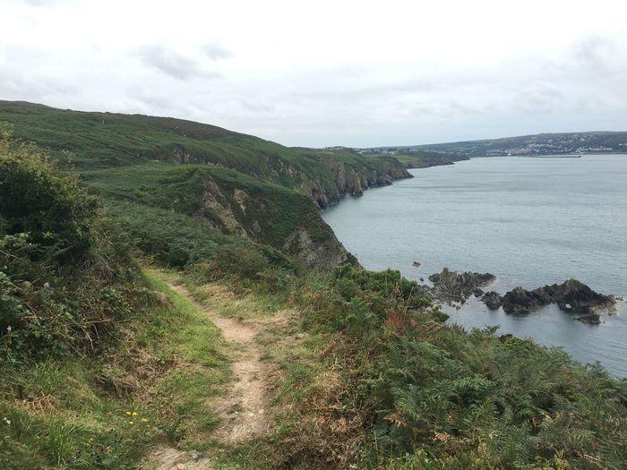 Wales Coast Seascape