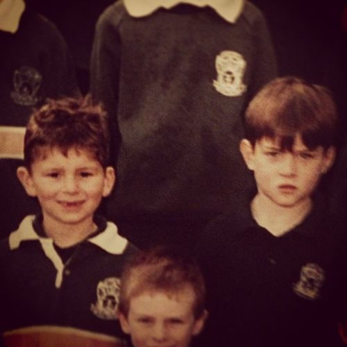 Homies from way back, primary school days @mfreeman15 School Flashback Notathrowbackcunt Freemanlookslikeaserialkiller dprox