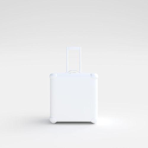 suitcase white