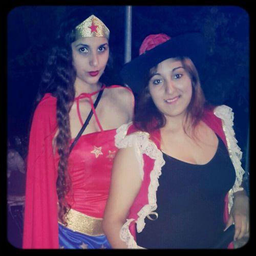 Pirate Wonderwoman Danielii Cumpleañera