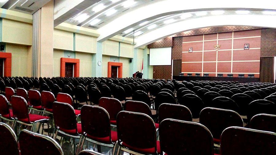 Convention Hall UIN Sunan Kalijaga Yogyakarta Yogyakarta, Indonesia UINJogja Indoors  INDONESIA First Eyeem Photo