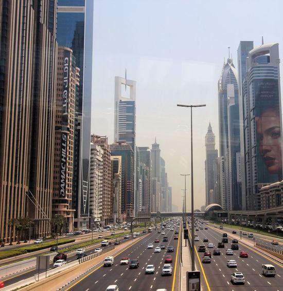Dubai Architecture City City Life Mode Of Transportation Modern Outdoors Tower Transportation