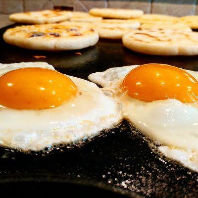 Breakfast Eggs Arepas Food Foodie Foodphotography Foodporn Foodpic Butter