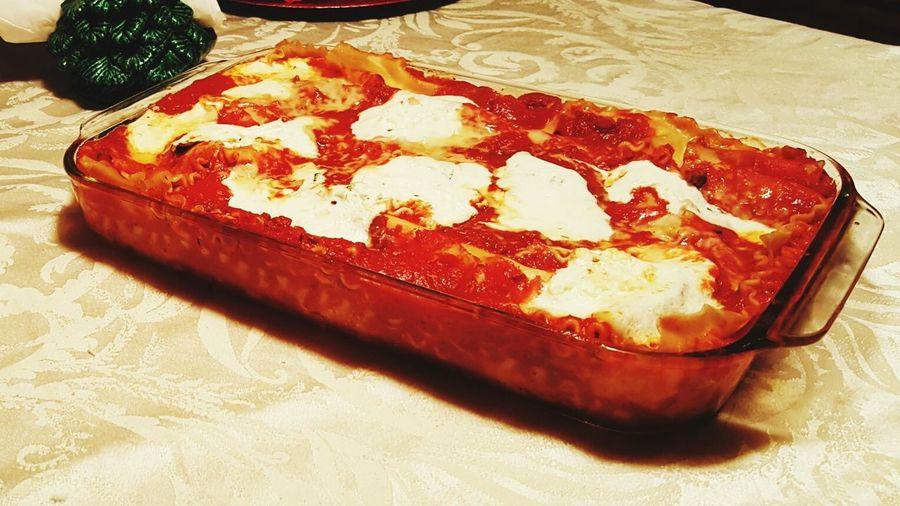 Christmas Dinner Christmas Eve Christmastime Lasagna!!!!! Lasagna Christmas Spirit