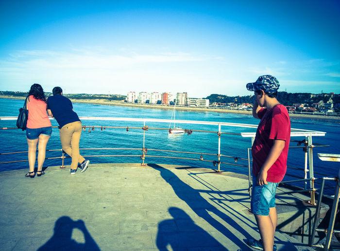 Salinas Beach - Asturias Real People Outdoors Water Day Cloud - Sky Sky Beach Asturias Spain🇪🇸 The Week On EyeEm