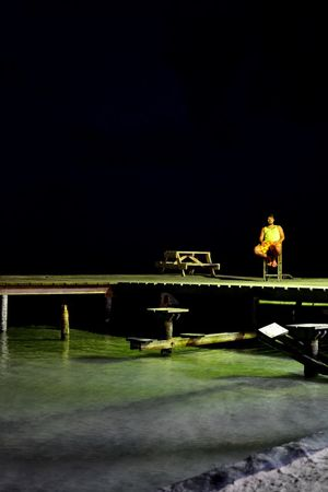 Nikon D5200 Igersphoursa Caye Caulker Yellow Man
