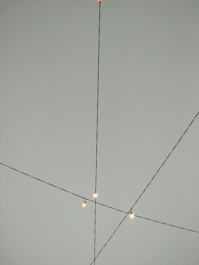 Lights Light Bulb Lines And Lights Lines And Angles Lines In The Sky Connected