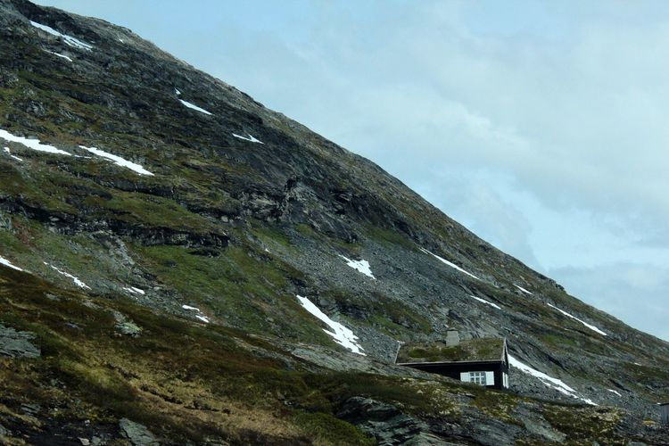 House on a hill Nature Photography Hill Houseonahill Norway Mountain View Traveling Travel Travel Photography Travelphotography Nature Roadtrip Road Landscapes With WhiteWall The Great Outdoors - 2016 EyeEm Awards Feel The Journey