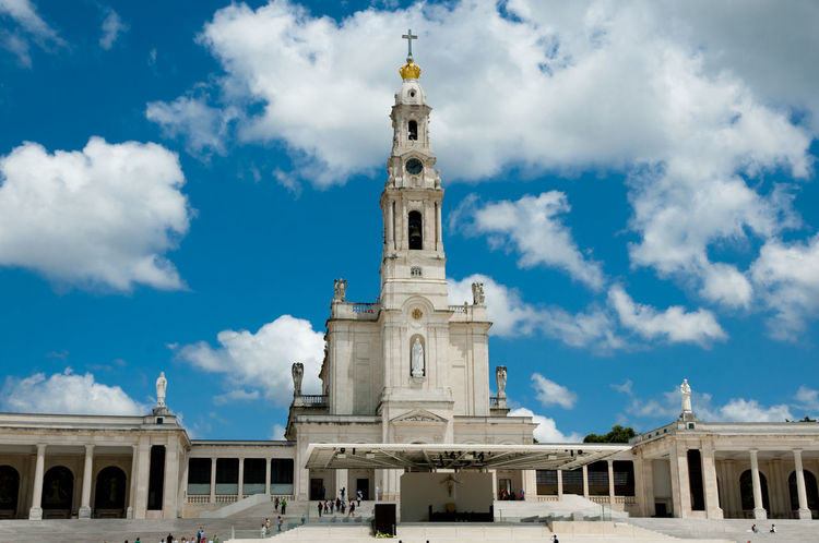 Sanctuary of Our Lady of Fatima Fátima Our Lady Of Fatima Portugal Sanctuary  Spirituality