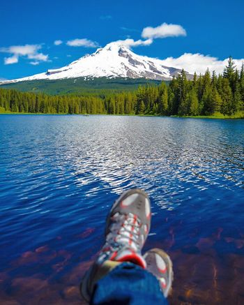 Trillium Lake MtHood Oregon