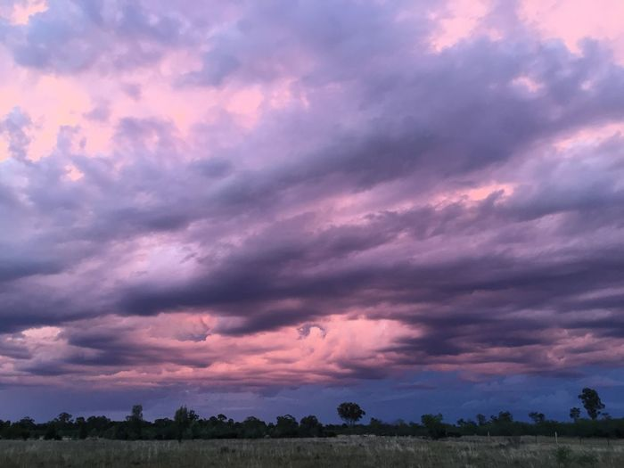 Pastel skies .. Scenics Beauty In Nature Nature Cloud - Sky Sky Tranquil Scene Landscape Rural Scene