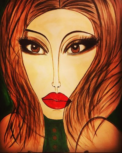 I color my world, i will get there Journey Contemporary Art Acrylic Painting Paintings Art Art And Craft