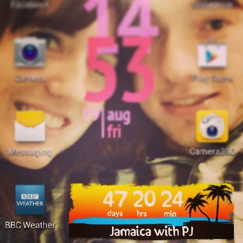 Excited Jamaica Countdown Notlong Vacation Holiday Love