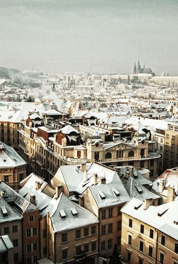 Traveling Prague Photography Winter