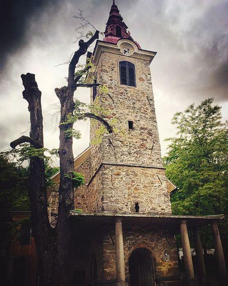 The Architect - 2016 EyeEm Awards Ljubljana, Slovenia Stara Cerkev Old Church Old Church Picture HDR Effect Cloud Porn Cloudy Sky Fine Art Photography