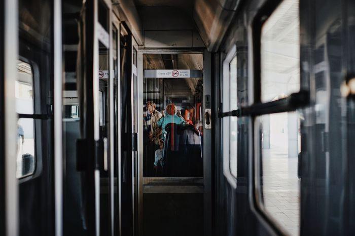 Transportation Train Train - Vehicle Train Interior Travel People Rail Transportation Passenger Train Stories From The City