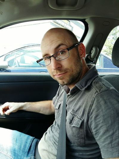 Driving Around Cute Man The Look Eyeglasses  The Portraitist - 2018 EyeEm Awards