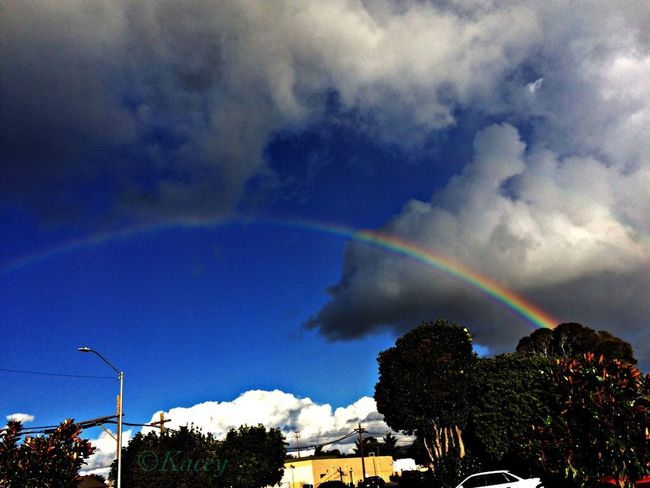 Check This Out Enjoying Nature Rainbows Sky Clouds Rainbows